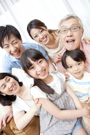 granny and grandad: Of large families smile