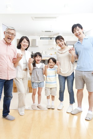 Van grote gezinnen smile