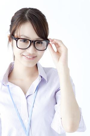 OL the glasses Banco de Imagens
