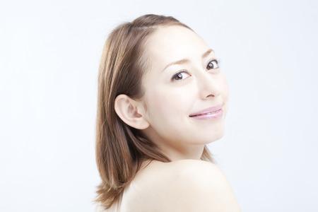 Smiling woman 版權商用圖片