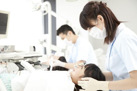 Examination landscape of dental clinic
