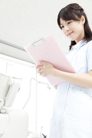 Dental hygienist View chart