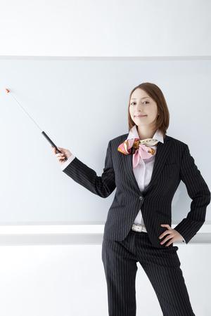 Businesswoman of the training