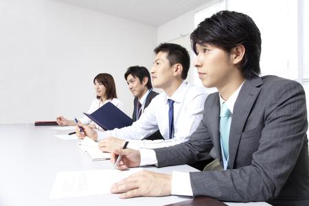 Business rozhovor Reklamní fotografie