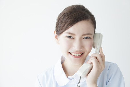 Nurse call Stock Photo
