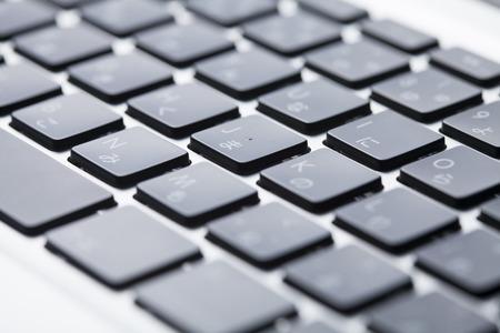 computer terminals: Laptop keyboard