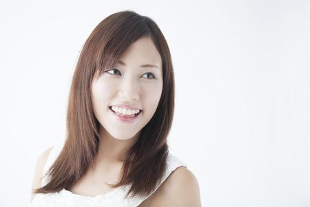 Smiling woman Zdjęcie Seryjne