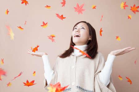 rejoice: Women who rejoice in that dance of autumn leaves