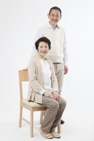 Smiling senior couple Stock Photo - 39927395
