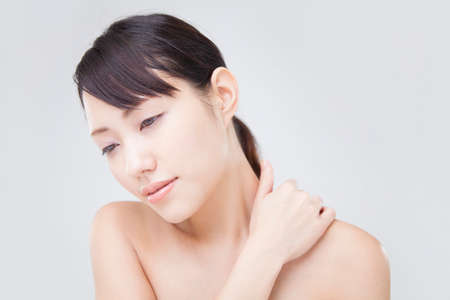 stiff: Women who suffer from stiff neck