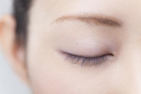 sound healing: Female eyes