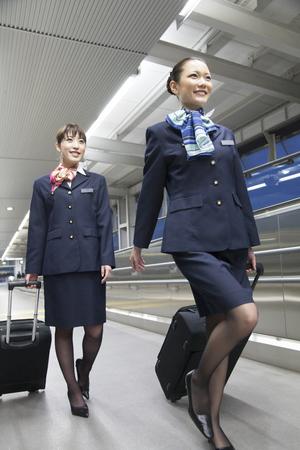 twenty two: CA walk in the airport