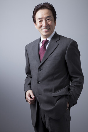 Smiling businessman 免版税图像