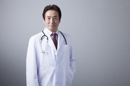 healthcare asian: Veteran doctors Stock Photo