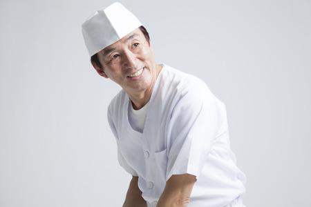 Chef of smile Standard-Bild