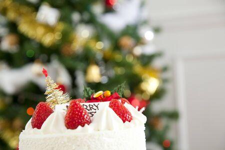 weihnachtskuchen: Christmas cake and tree