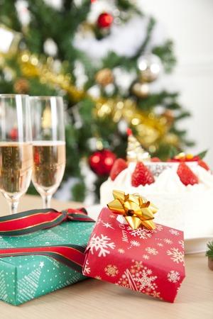 Christmas party Stock Photo