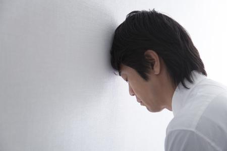 Depressed businessman Фото со стока - 49271500