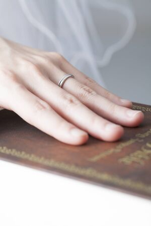 swear: Hand of the bride to swear in the Bible