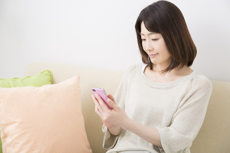 multi family house: Middle Lady to work with Smartphones