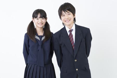 Men's junior high school and junior high school girls