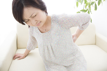 Middle women suffer from low back pain