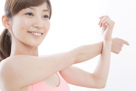 pliable: Woman to stretch
