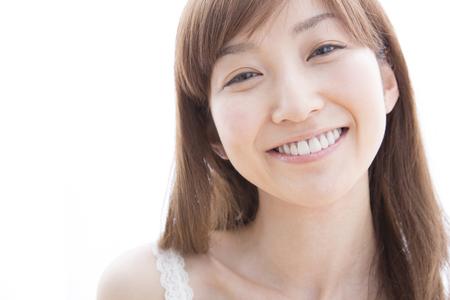笑顔の女性 写真素材