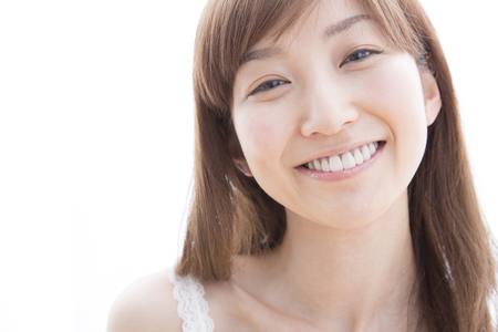 Smiling woman Stock Photo