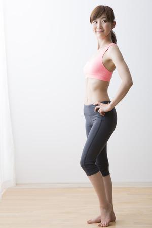 女性のフィットネス スタイル