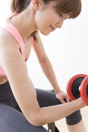weight training: Weight training for women
