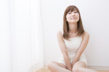 loosen up: Women sit by the window