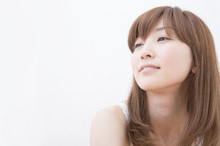 loosen up: Woman smiling