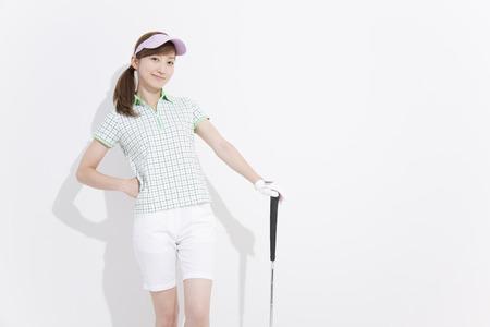 Women's golf style