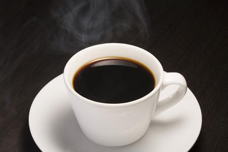 ホットコーヒー 写真素材