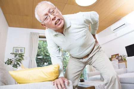 low back pain: Senior men who suffer from low back pain