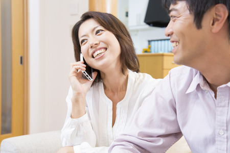 multi family house: Middle woman called with a smile