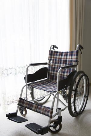 healthcare facilities: Wheelchair Stock Photo