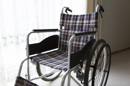 healthcare facility: Wheelchair Stock Photo