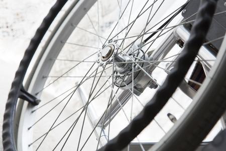 healthcare facilities: Wheelchair tires