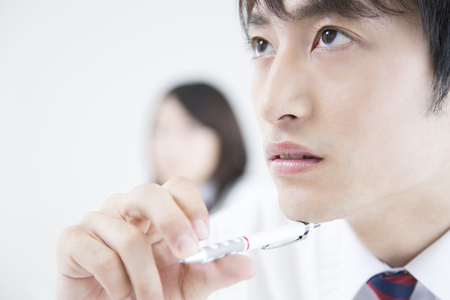 To high school students 免版税图像