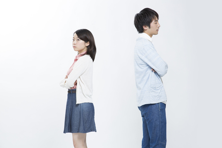 Quarrel Couples Фото со стока