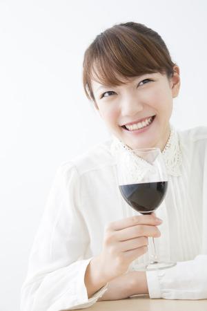 drank: Women who drank red wine