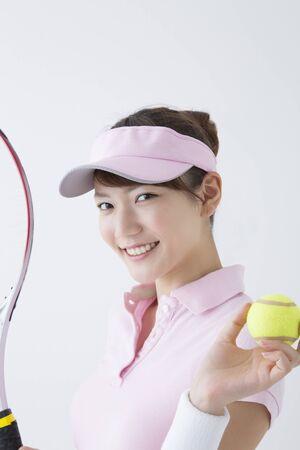 Women's tennis style 版權商用圖片 - 49347657