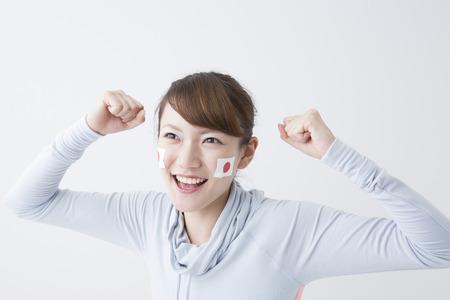 Girls to rooting Japan