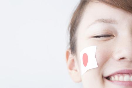 rooting: Girls to rooting Japan