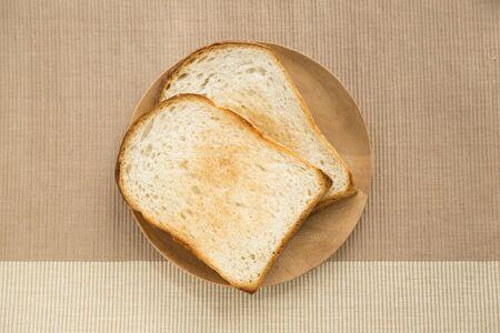 tableware life: Toast Stock Photo