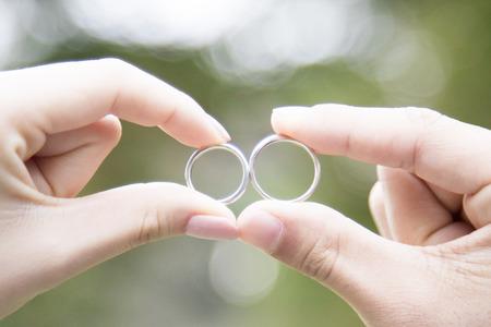 feier: Hochzeit Ringe