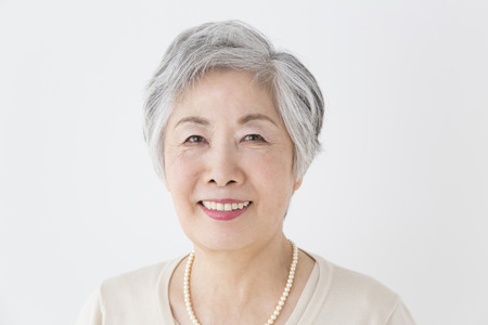 Senior woman smiling Stock Photo - 39905855