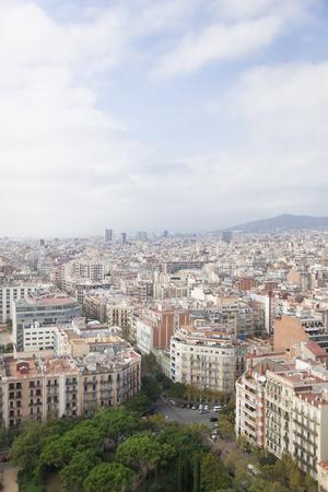 sagrada familia: Views from the Sagrada Familia